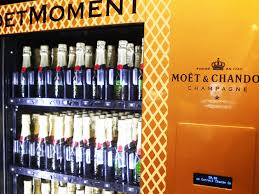 a champagne vending machine is coming soon to new orleans food