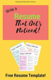 Write A Resume Online Free by Best 25 Resume Template Free Ideas On Pinterest Free Cv