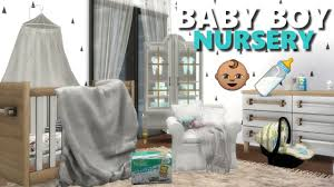Baby Nursery Decor The Sims 4 L Nursery Room Finds Cc List Crib Diapers Baby Wipes