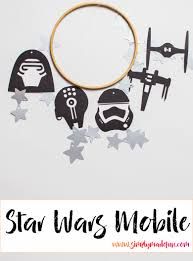 diy star wars mobile simply made fun