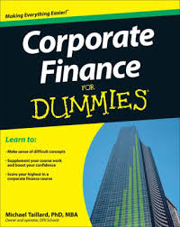 Barnes And Noble Owner Corporate Finance For Dummies By Michael Taillard Paperback