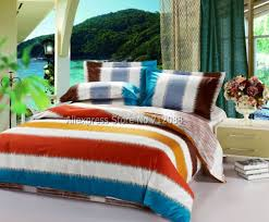 orange and blue bedding sets spillo caves