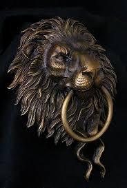 lion door knocker lion door knocker sculpture i hear you knockin
