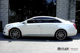 cadillac xts wheels cadillac xts with 22in asanti abl5 wheels exclusively from butler