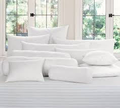 feather pillows pottery barn au