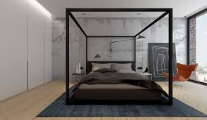 Modern Canopy Bed Frame Modern Canopy Bed Interior Design Ideas Helena Source