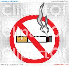 no smoking sign transparent background royalty free rf clipart illustration of a smoking cigarette on a