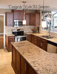 Travertine Tile For Backsplash In Kitchen - kitchen good looking dark maple kitchen cabinets travertine tile