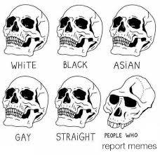 Black And White Memes - deformed skull eurokeks meme stock exchange