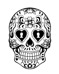 coloring pages of sugar skulls 100 images coloring pages sugar