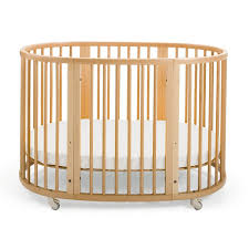 Baby Crib Round by Cribs