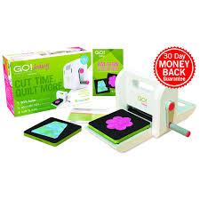 accuquilt go baby fabric cutter starter set fabric cutting machine