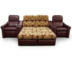 home theater sleeper sofa fortress eldorado luxury home theater chaise lounger
