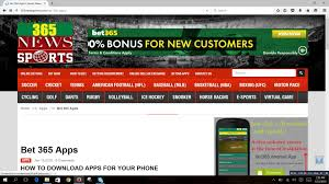 bet365 apk how to bet365 apps in your mobile