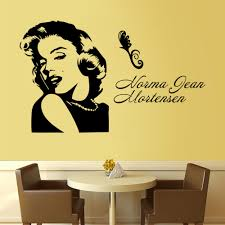 popular movie quotes wall decals buy cheap free shipping art wall stickers movie star football marilyn monroe diy home decorations