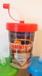 monster truck jam coupons monster jam monster trucks birthday party favor cups lids u0026 straws