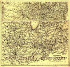 Map Of Illinois And Indiana by Indiana U0026 Illinois Central Railroad