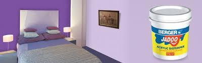 jadoo acrylic distemper for home walls berger paints