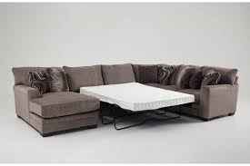 Chaise Queen Sleeper Sectional Sofa Luxe 4 Piece Right Arm Facing Innerspring Queen Sleeper Sectional