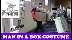 Pack Halloween Costume Man Box Diy Illusion Costume Halloween