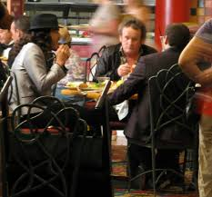 Casino Buffets In Las Vegas by Russell Brand Filming At Orleans Hotel U0026 Casino Buffet In Las