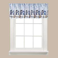 Red Scarf Valance Window Scarves U0026 Valances Window Treatments The Home Depot