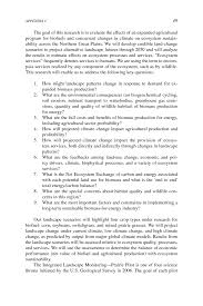 appendix c descriptions of agency activities presented at the
