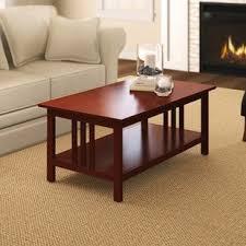 craftsman style coffee table craftsman style coffee table wayfair