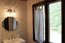 Bathroom Window Curtains Tab Top Curtains For Bathroom Window Ridgeside