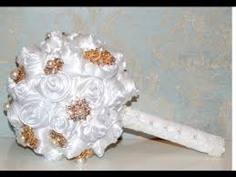 how to make a wedding bouquet diy wedding decorations tutorial how to make a brooch bouquet