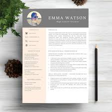 Template For Professional Resume 6 Professional Resume Cv Templates Master Bundles