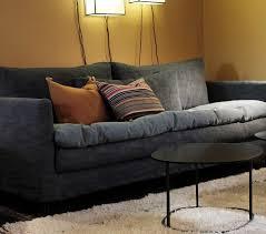 canapé tissu déhoussable canapé contemporain en tissu 3 places déhoussable adar