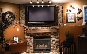fireplace mantel light stovers