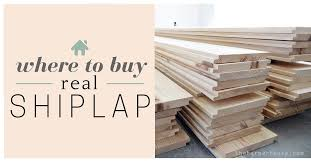 where to buy shiplap the house