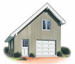 Free Single Garage Plans by Eplans Garage Plan Contemporary Single Car Garage 414 Square
