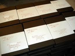 Box Wedding Invitations Wedding Box Invitation Labels Customer Ideas Onlinelabels Com
