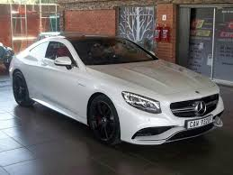 mercedes s63 amg for sale 2015 white mercedes s class s63 amg coupe edition 1 r 2 650 000