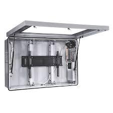 our new custom outdoor tv cabinet home pinterest plasma enclosure
