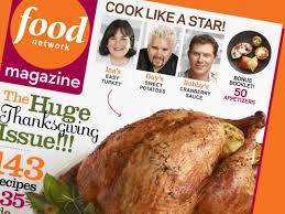 food network magazine november 2012 recipe index recipes and