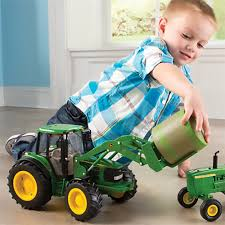 ertl john deere toy tractors u2013 1 16 scale big farm toys rungreen
