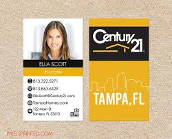 business cards tampa fl 21 best business cards realtors images on