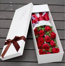 in a box delivery send 12 roses and greens in the box to china 12 roses and