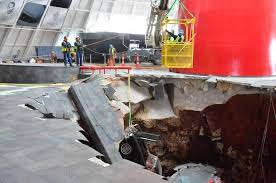 where is the national corvette museum national corvette museum plans to re create sinkhole