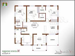 House Plan Luxury 3 Bhk House Plans In Kerala 3 Bedroom House
