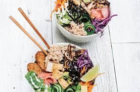cuisiner sushi sushi bowls australian health magazine cuisiner se