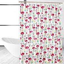 Flamingo Shower Curtains Affluence Home Fashions Fancy Flamingo Shower Curtain