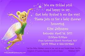 tinkerbell baby shower invitations cimvitation