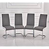 chrome dining room chairs dining chairs shop dining room chairs amazon uk