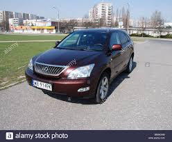 lexus large suv lexus rx 350 my 2004 mk2 brown five doors 5d japanese