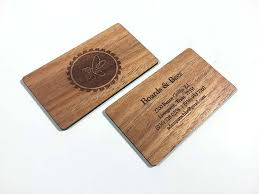 Business Cards Perth Wood Business Cards Laser Engraved Starting At 1 30 Each